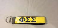 Phi Sigma Sigma Sorority Key Fob