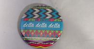 Delta Delta Delta Sorority Tribal Print Button- Small