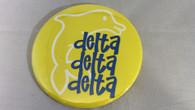 Delta Delta Delta Sorority- Symbol Button-Large