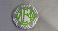 Alpha Epsilon Phi AEPHI Sorority Gray and White Button-Small