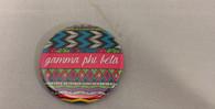 Gamma Phi Beta Sorority Tribal Print Button- Small