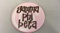Gamma Phi Beta Sorority- Symbol Button-Large