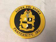 Alpha Phi Alpha Fraternity Car Emblem