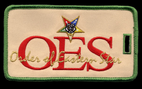 Order of the Eastern Star Luggage Tag