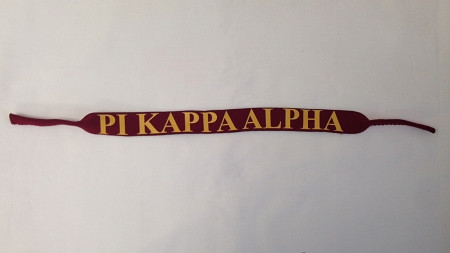Pi Kappa Alpha PIKE Fraternity Croakies/ Sunglass Holders