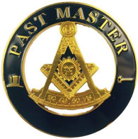 Mason Masonic Past Master Cut Out Car Emblem
