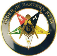 Order of the Eastern Star Past Patron Cut Out Car Emblem