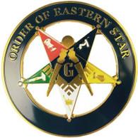 Mason Masonic Past Patron Cut Out Car Emblem