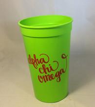 Alpha Chi Omega Sorority Cup