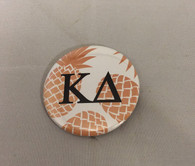 Kappa Delta Sorority Pineapple Button
