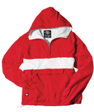 Charles River Sorority Anorak- Red and White