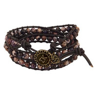 Sigma Kappa Sorority Triple Wrap Bracelet