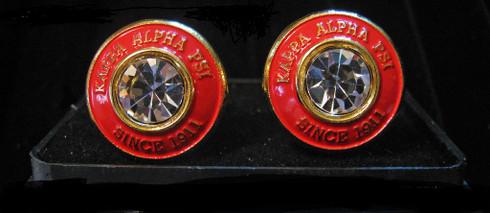Kappa Alpha Psi Fraternity Cuff Links