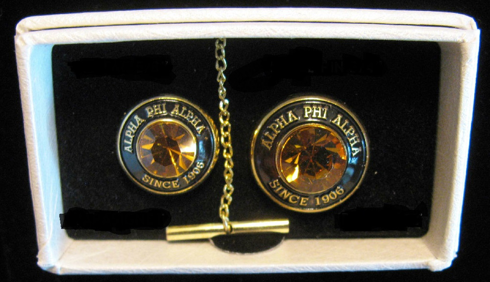 Alpha Phi Alpha Fraternity Tie Tac and Lapel Pin Set - Brothers and ...