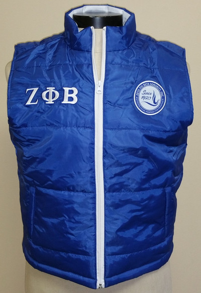 Zeta Phi Beta Sorority Vest