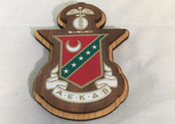 Kappa Sigma Fraternity Raised Wood Crest
