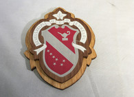 Alpha Phi Sorority Raised Wood Crest