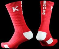 Kappa Alpha Psi Fraternity Dry Fit Crew Socks