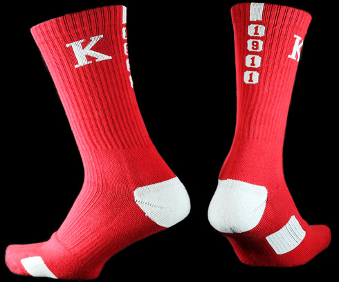 Kappa Alpha Psi Fraternity Dry Fit Crew Socks
