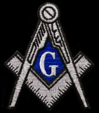 Mason Masonic Emblem- Silver