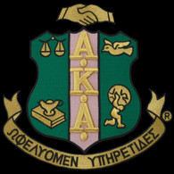 Alpha Kappa Alpha Sorority Emblem- 5 Inches