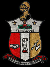 Kappa Alpha Psi Fraternity Emblem- 2 7/8 Inches