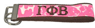 Gamma Phi Beta Sorority Key Fob- Pattern #1