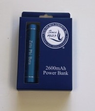 Zeta Phi Beta Sorority Power Bank