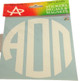Alpha Omicron Pi Sorority Monogram Car Decal