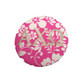 Fabric Button Inspiration- Pink and White Flowers
