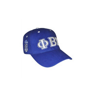 Phi Beta Sigma Fraternity Three Greek Letter Baseball Hat