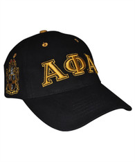 Alpha Phi Alpha Fraternity Three Greek Letter Baseball Hat