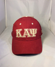 Kappa Alpha Psi Fraternity Three Greek Letter Baseball Hat