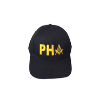 Prince Hall Mason Masonic PHA with Symbol Hat