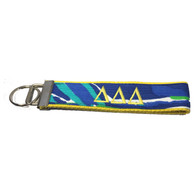 Delta Delta Delta Sorority Key Fob- Pattern #4