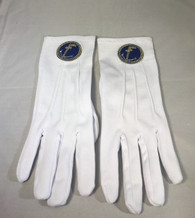 Mason Masonic Tubal Cain Gloves