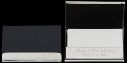 Alpha Phi Alpha Business Card Holder