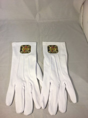 Mason Masonic Knights Templar Gloves