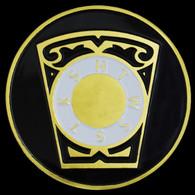 Mason Masonic RAM-Keystone Car Emblem
