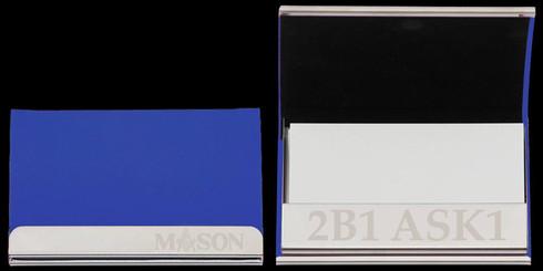 Mason Masonic Business Card Holder