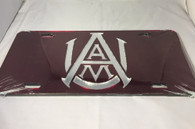 Alabama A&M University License Plate- Style 1