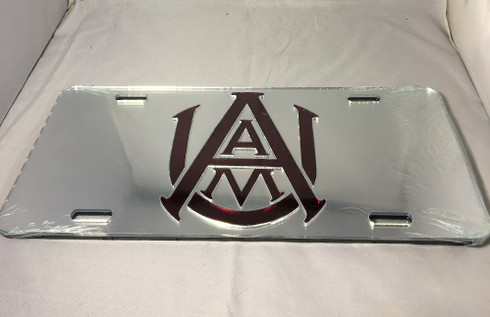 Alabama A&M University License Plate- Style 2