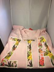 Zeta Tau Alpha Sorority Spirit Jersey- Pink Bloom