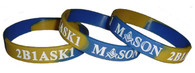 Mason Silicone Wristband Bracelet