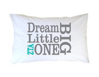 Zeta Tau Alpha Sorority Little Sister Pillow Case