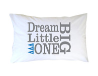 Delta Delta Delta Tri-Delta Sorority Little Sister Pillow Case