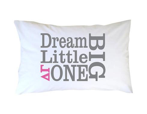 Delta Gamma Sorority Little Sister Pillow Case