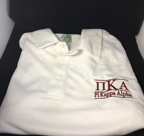 Pi Kappa Alpha PIKE Fraternity Dri-Fit Polo