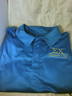Sigma Chi Fraternity Dri-Fit Polo- Blue