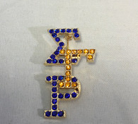 Sigma Gamma Rho Sorority Stacked Pin